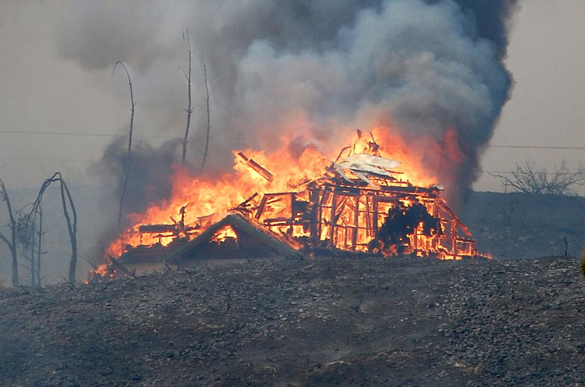 Fire damages claim filed against state