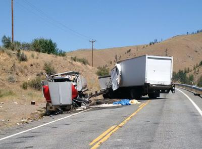 Two die in Highway 153 collision