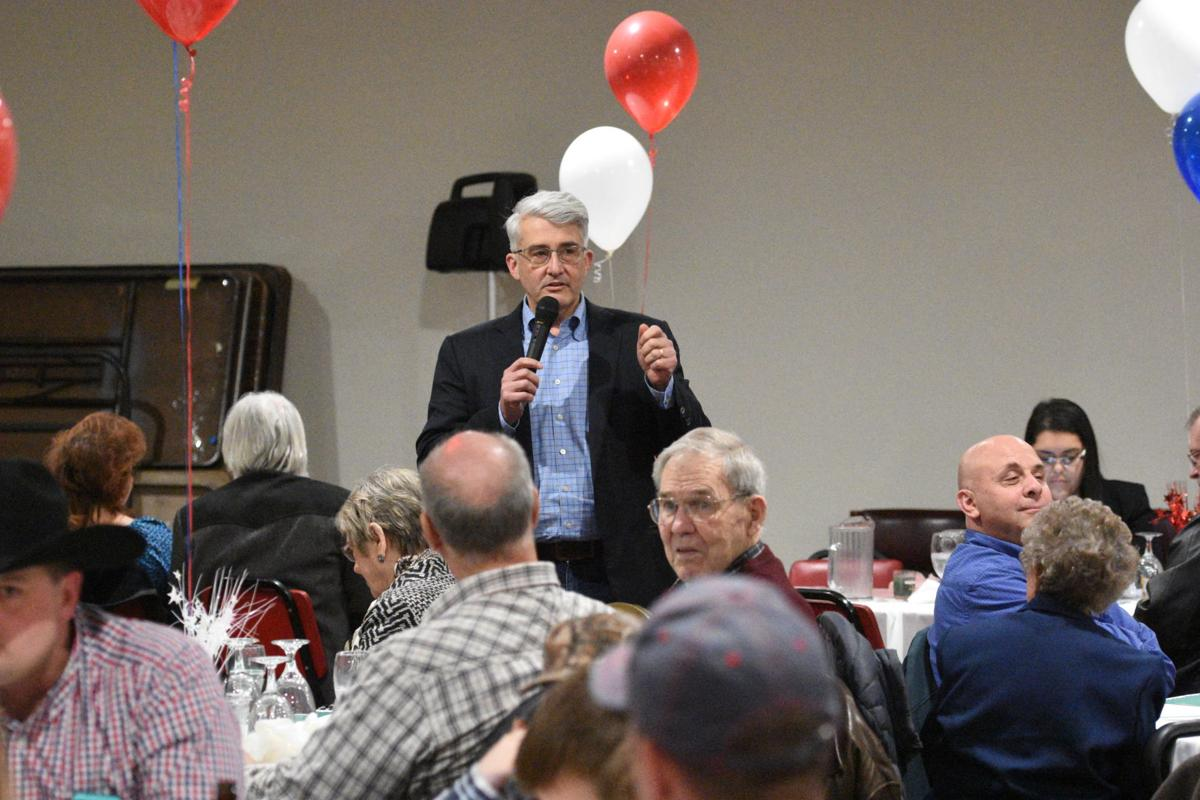 Candidates speak at Lincoln Day dinner