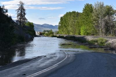 Okanogan River set to crest late Sunday or early Monday