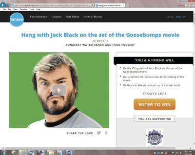 Hang with Jack Black? Yes, you can