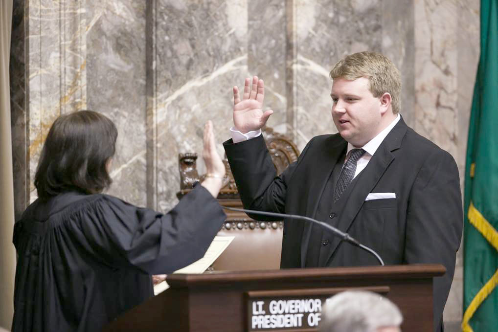 Dansel sworn in to four-year Senate term