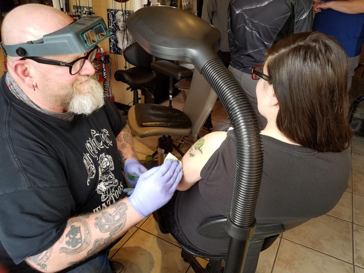 Tattoo artists converge for gumball event
