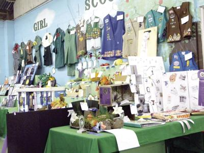 Scouts show crafting, art skills