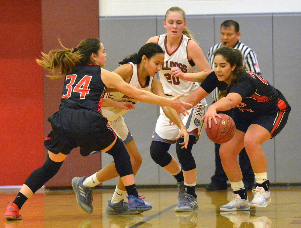 Girls' basketball: Omak girls stay in second