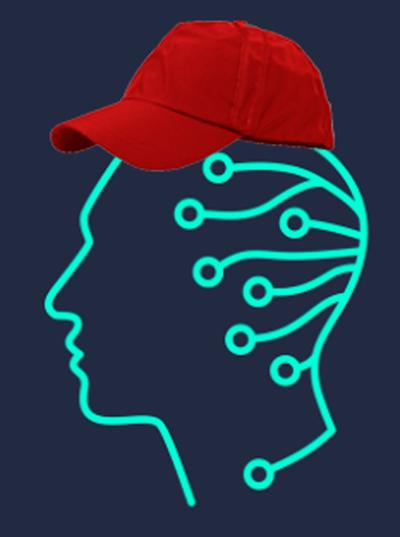 AI with ball cap