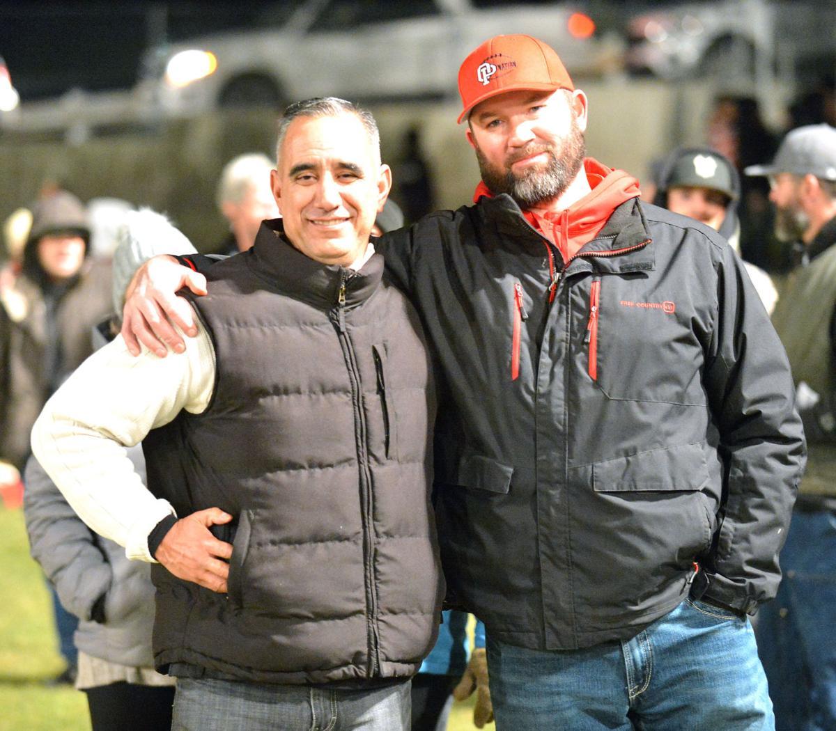 Hector Mendoza (left) and Jason Romine