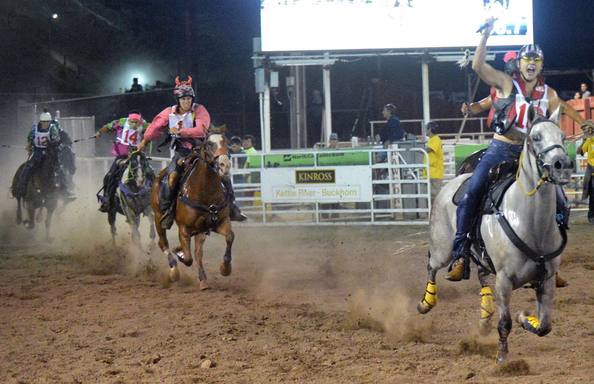 Oliver Pakootas and Onyx win Thursday's race