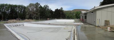 Tonasket pool nears completion