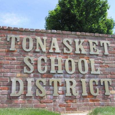Tonasket district sign