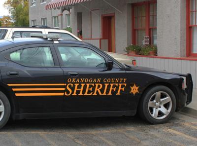 Okanogan county sheriff car