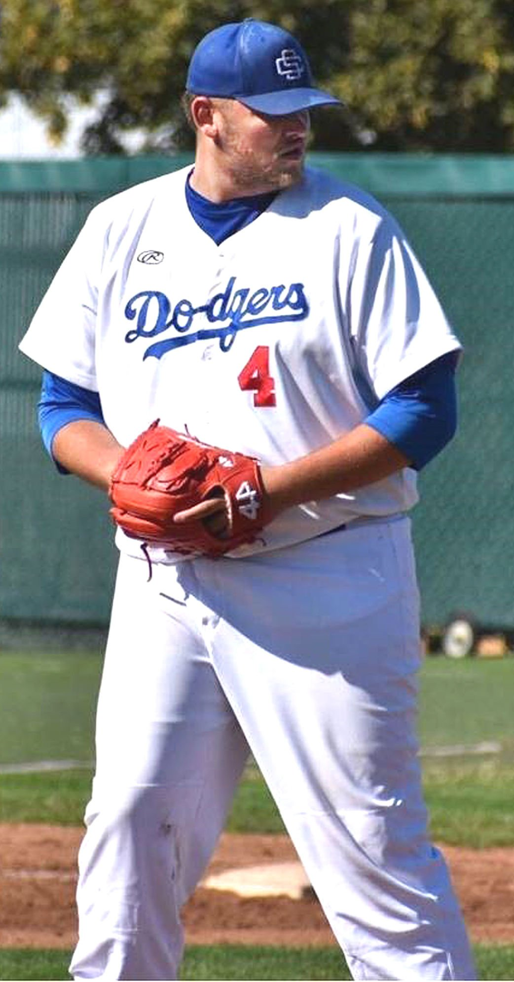 Conner Ashworth pitches for Spokane Dodgers