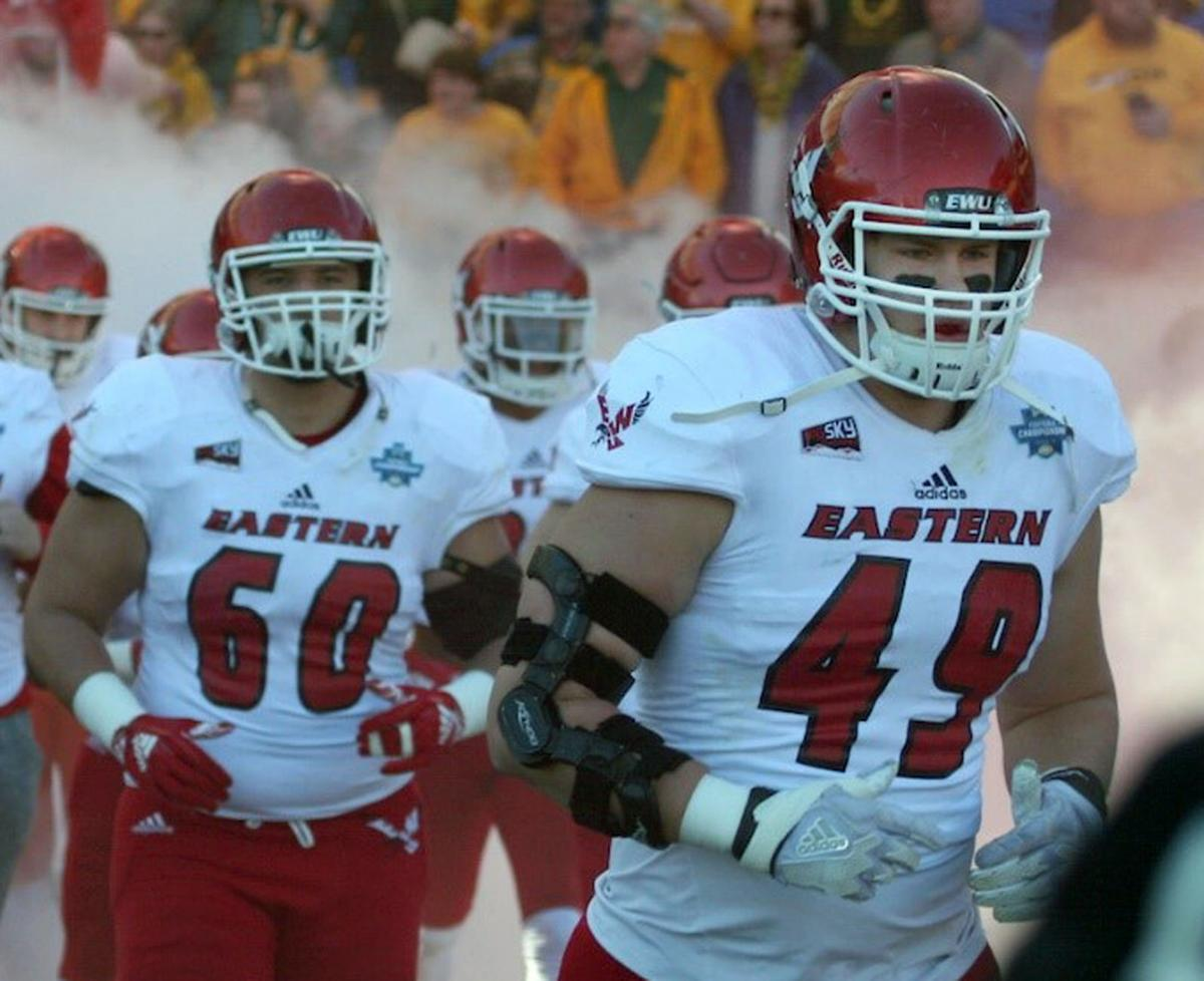 VIEW FROM THE SIDELINES: Townsend competes in FCS title football game