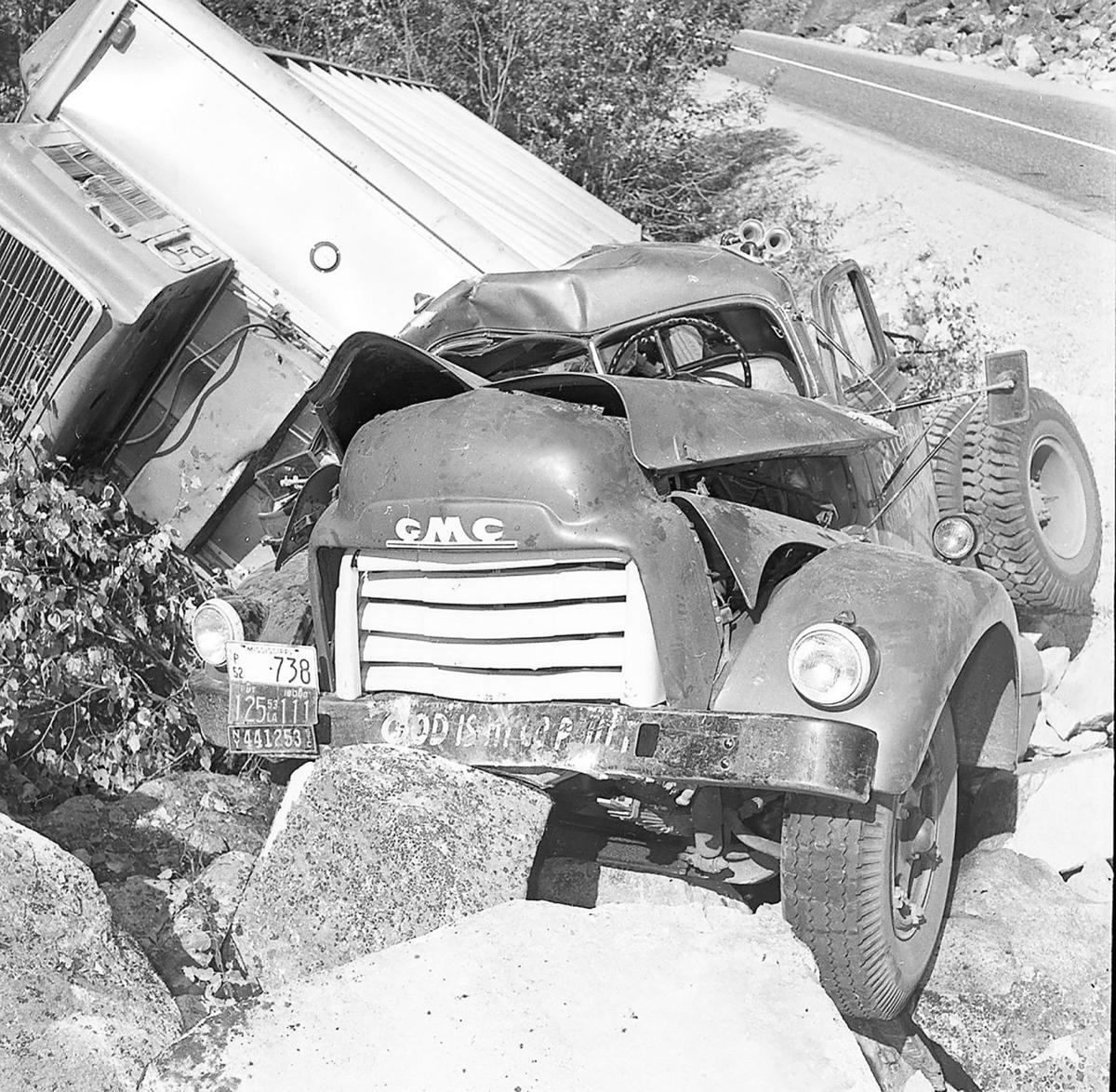 Egg truck wreck