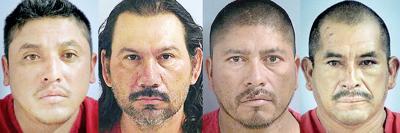 Murder suspects held on $750,000 bail