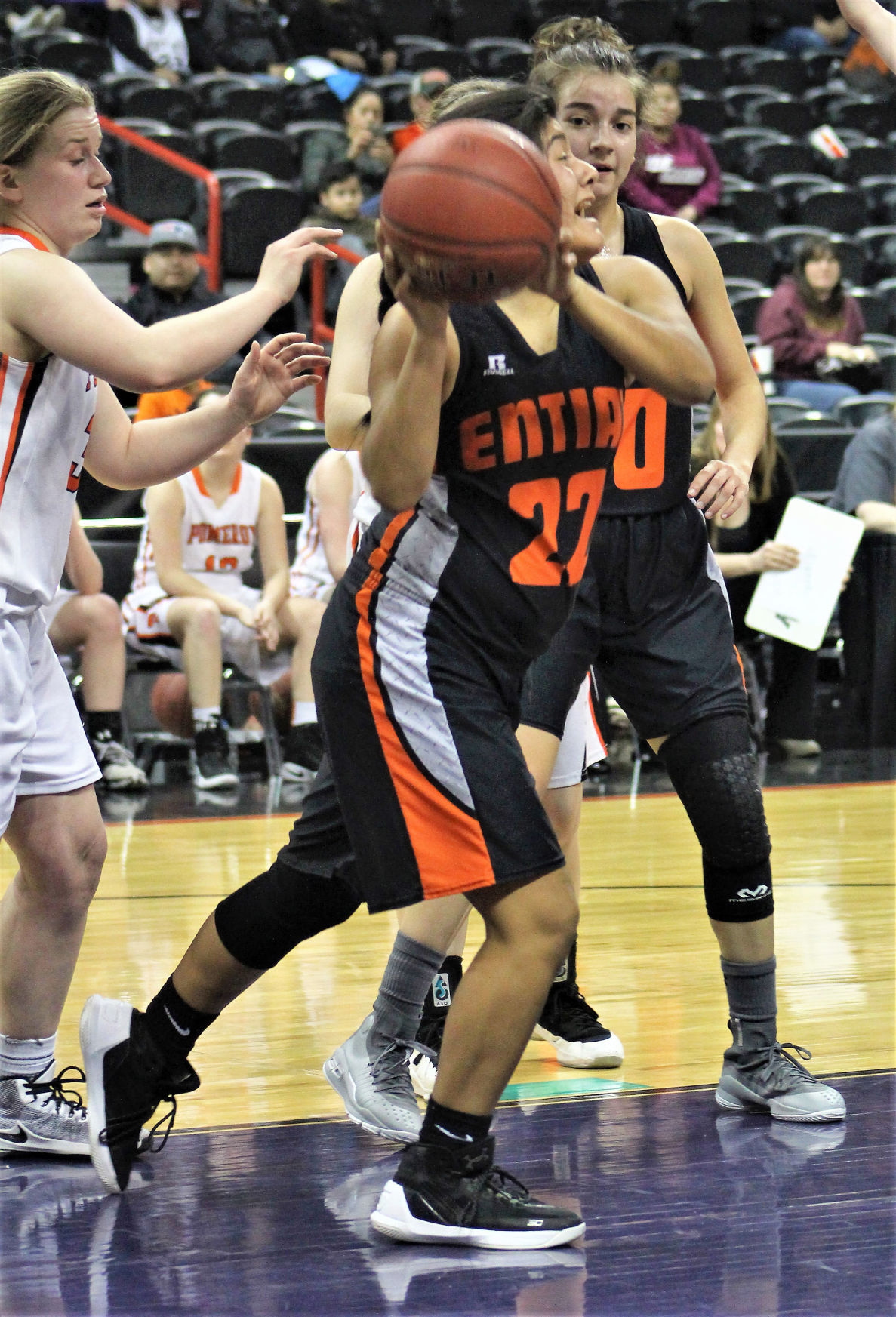 Pomeroy girls knock Entiat into state consolation round