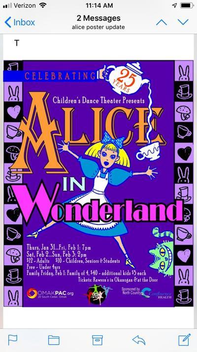'Alice in Wonderland' planned
