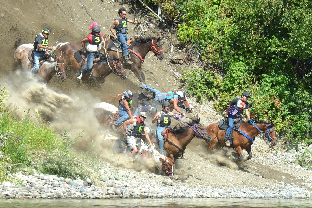 Suicide Race runoff No. 1 crash