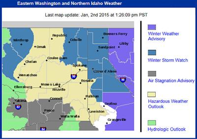 Winter storm watch in effect