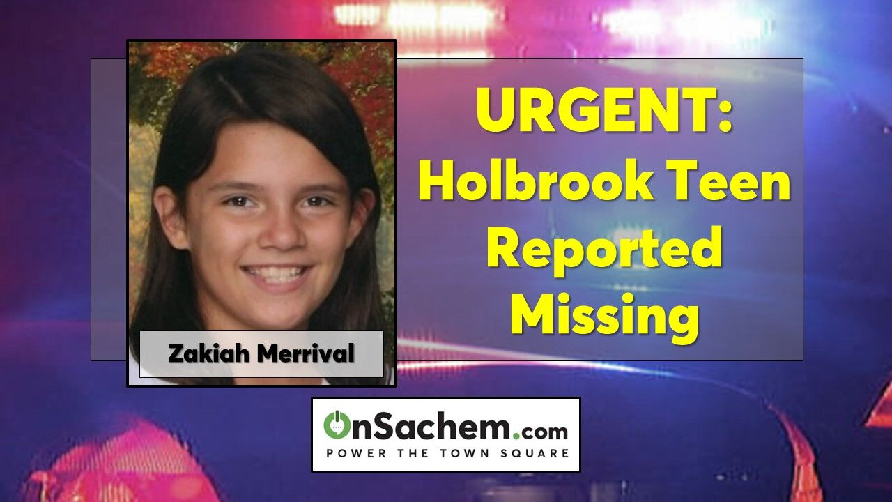 Zakiah Merrival, 13, of Holbrook reported missing since Friday, last seen riding a bicycle