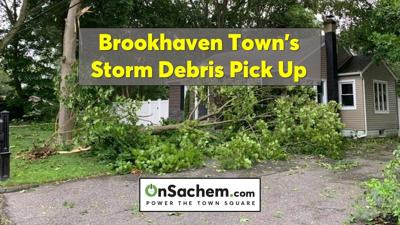 Brookhaven to conduct one-time collection of storm debris