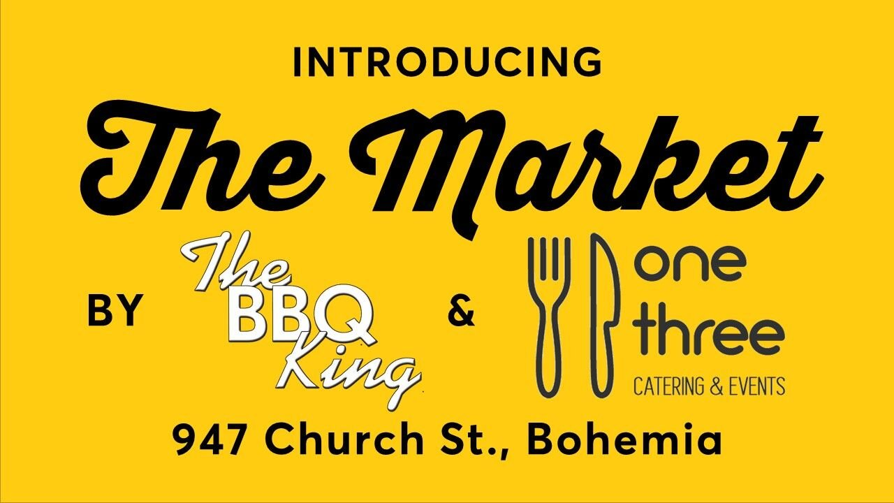 Introducing 'The Market' by The BBQ King & One Three Catering & Events in Bohemia