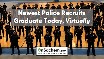 Live online at 9 a.m. today - SCPD to hold virtual graduation of 178th recruit class