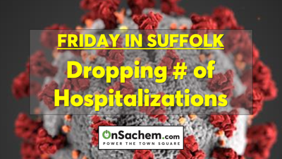 Suffolk's dropping number of hospitalizations