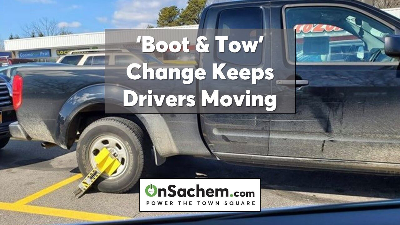 'Boot & Tow' program won't leave drivers without wheels under changes led by Legislator Piccirillo of Holbrook