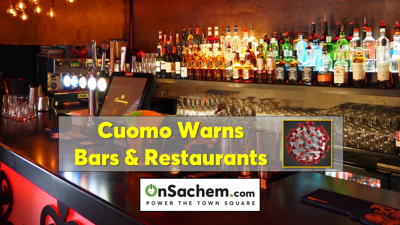 Cuomo: NY may roll back opening of bars and restaurants if laws aren't followed