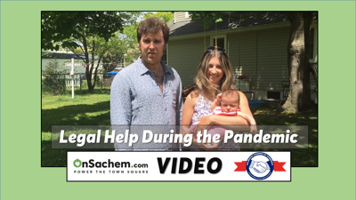 VIDEO: Holbrook attorney provides legal assistance during the pandemic