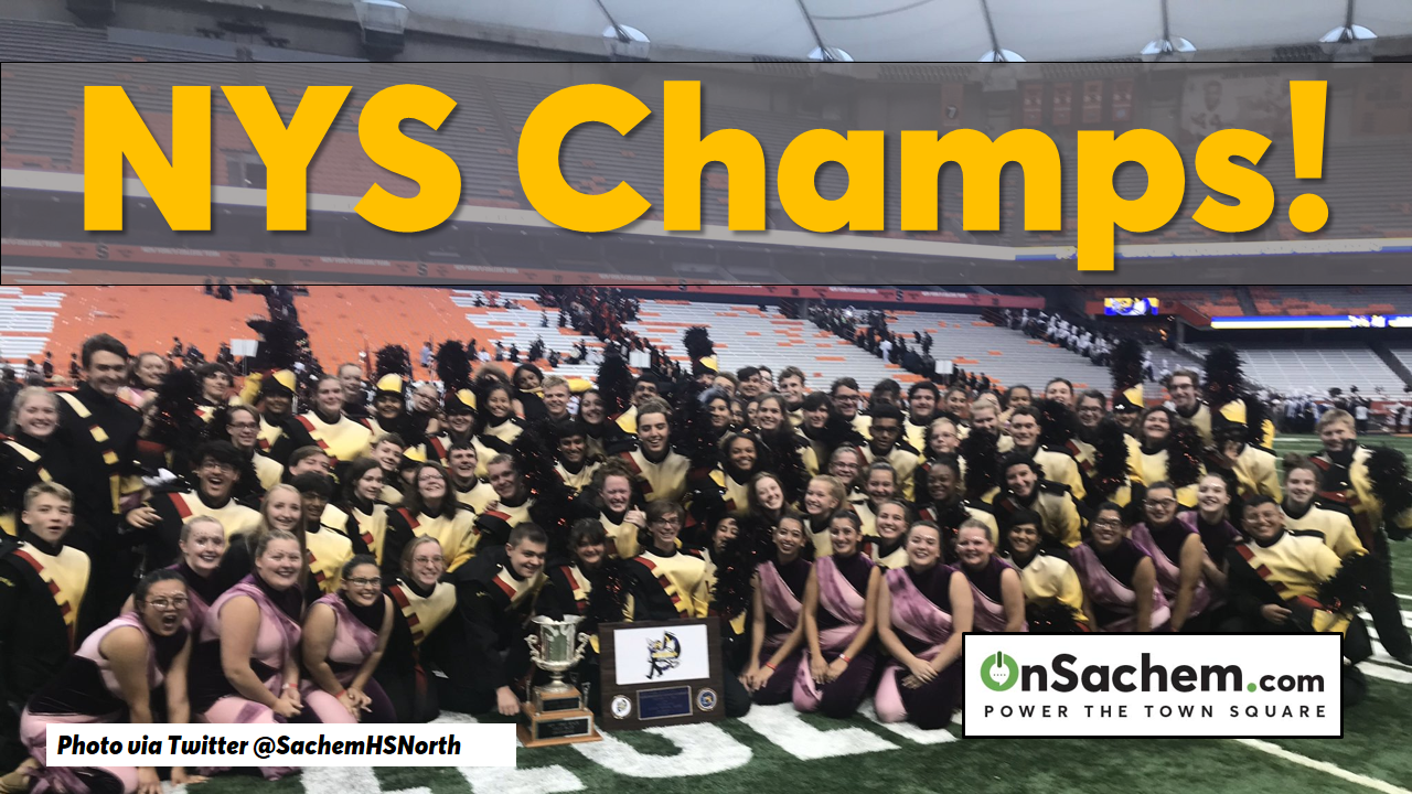 NYS Champs! Sachem Arrows Marching Band Wins Big in Syracuse, Brings Home State Championship