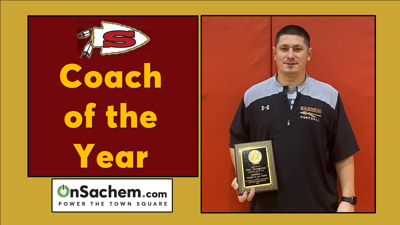 Sachem's Torregrosa Named Division 1 'Coach of the Year'