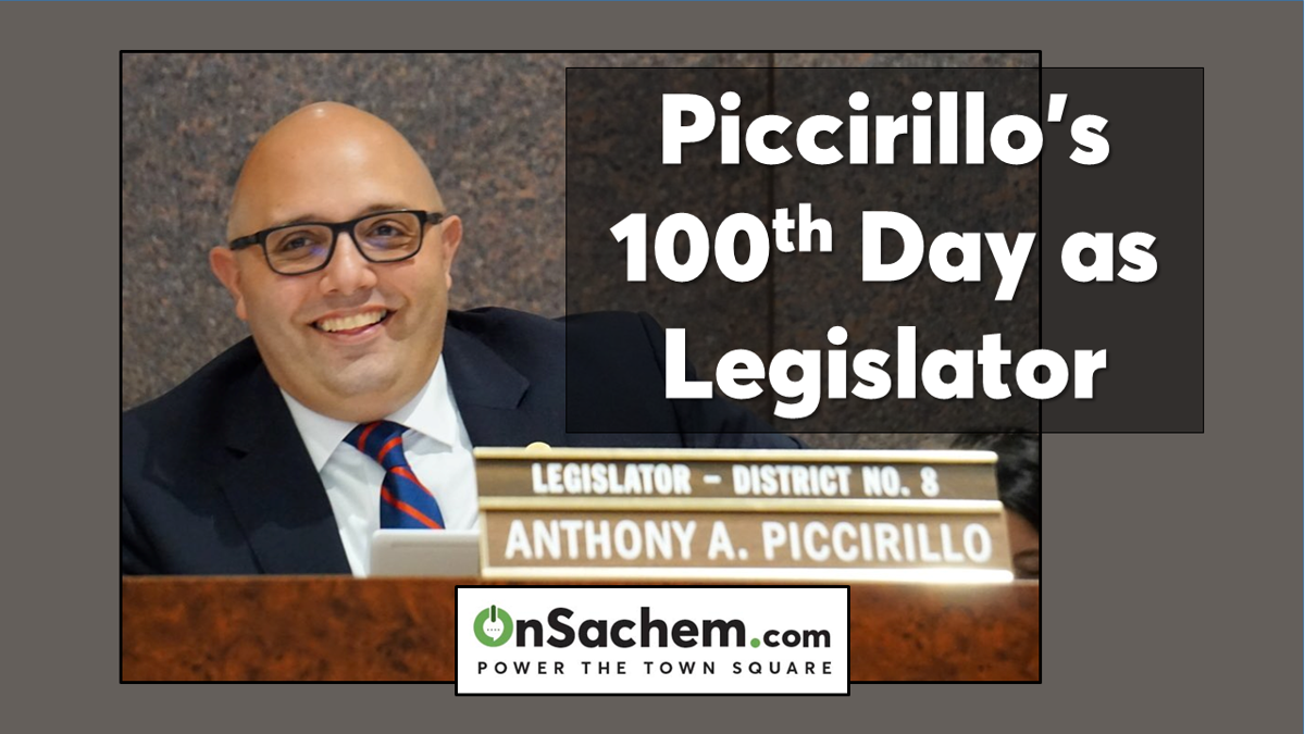 Piccirillo's viewpoint: Celebrating 100th Day in Office