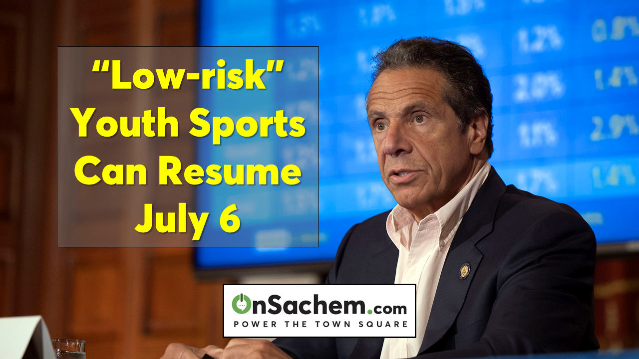 Cuomo: 'Low-risk' youth sports for regions in Phase Three can begin July 6