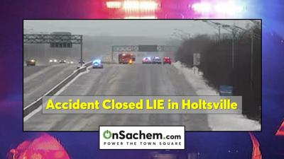 Update: LIE reopens in Holtsville after accident