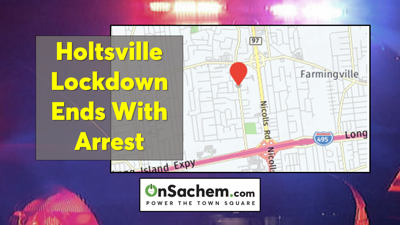 Holtsville lockdown ends with arrest and hospitalization: Suffolk Police