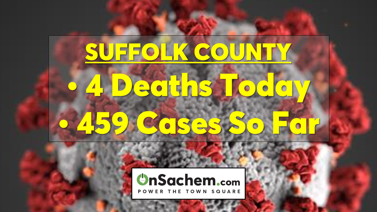 Coronavirus in Suffolk: Four deaths today, confirmed cases surpass 400