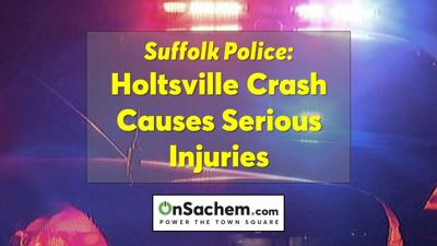 Serious injuries after car hits tree, catches fire during Holtsville crash