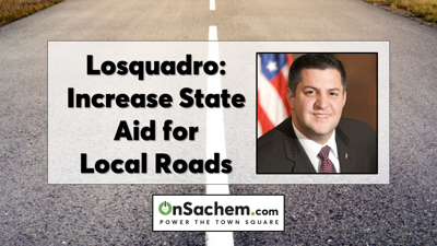Losquadro's Viewpoint: Governor, State Legislature Should Increase State Aid for Local Road Work, Infrastructure Improvements