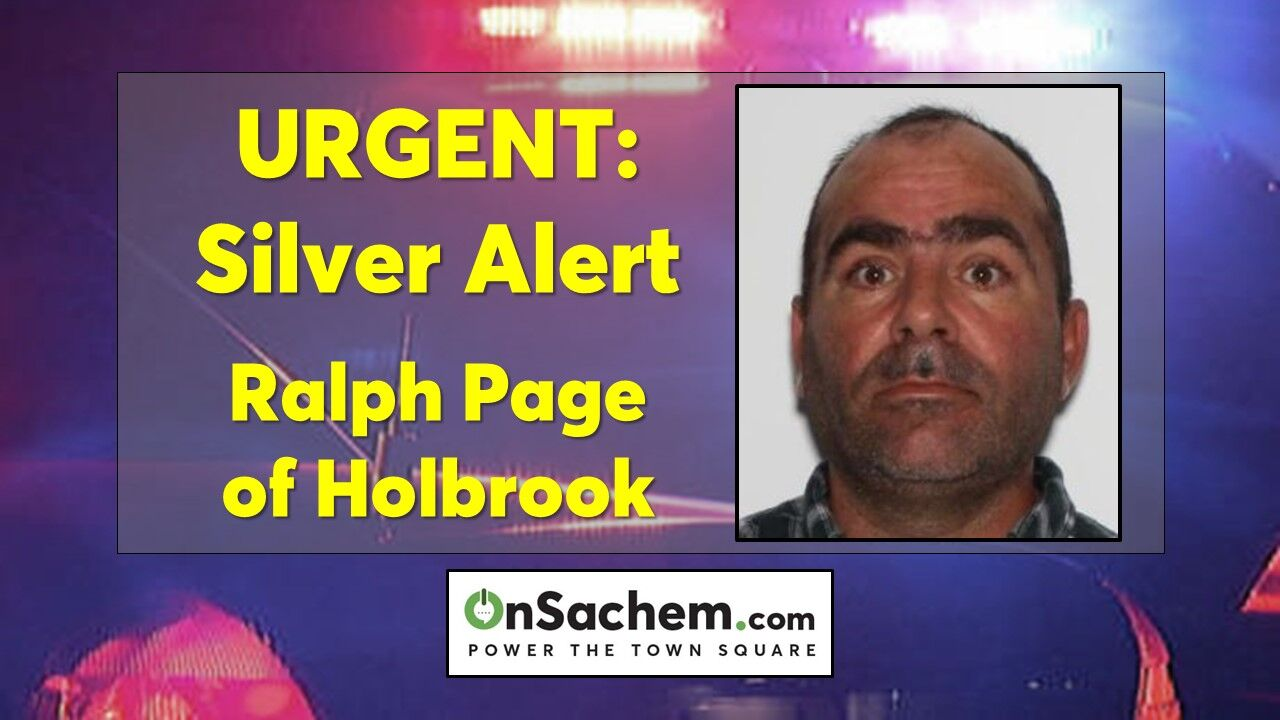 Suffolk Police issue 'Silver Alert' for missing Holbrook man