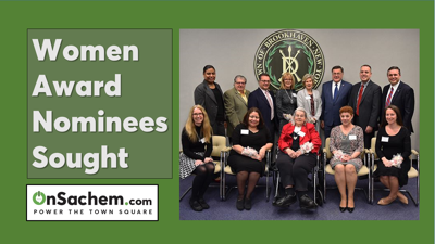 Brookhaven Town Seeks Nominations for 34th Annual Women's Recognition Awards