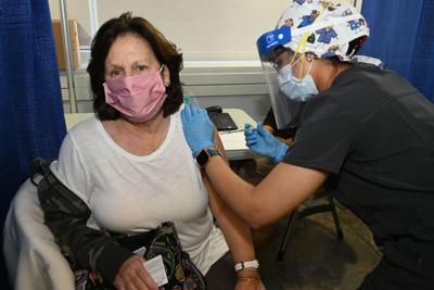 NYS vaccination site opened at Stony Brook University on Jan. 18, 2021