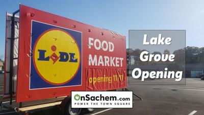 Lidl comes to Lake Grove, New store opens Wednesday