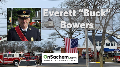 """Celebrating the Life of Everett """"Buck"""" Bowers, Ex-Chief & Ex-Commissioner of Ronkonkoma Fire Department"""