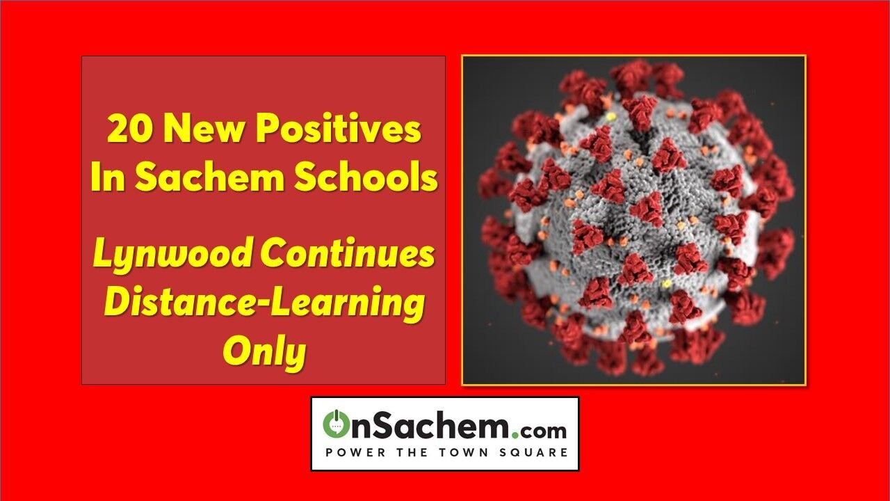 NEW INFORMATION: Lynwood School to resume in-person learning Feb. 2, COVID-19 infections up 20 in Sachem Schools