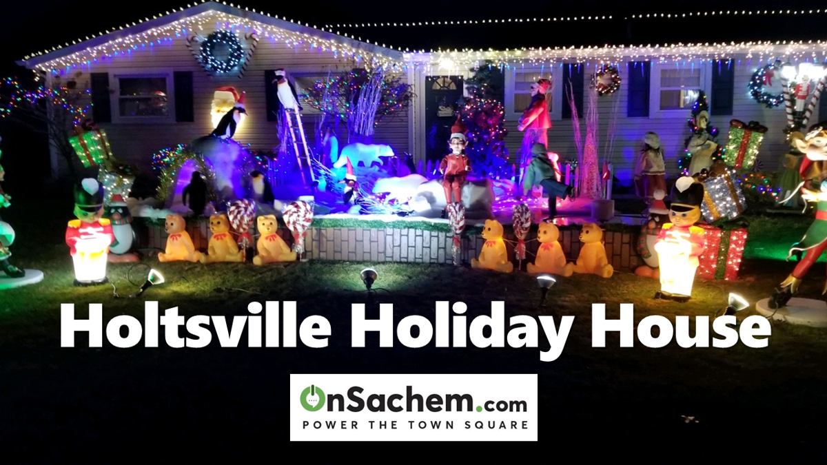 See the Holtsville House Decked Out for the Holidays