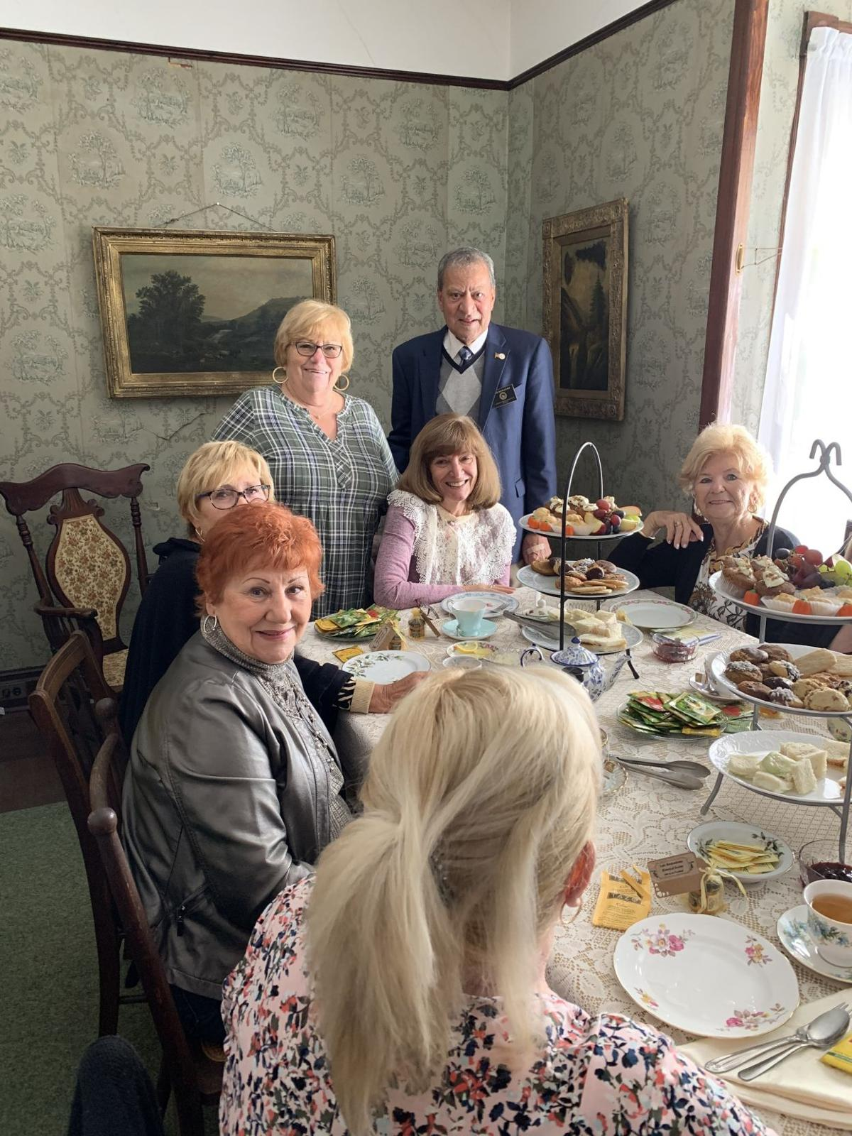 Suffolk County Legislator Tom Muratore Attends a Victorian Tea Hosted by the Lake Ronkonkoma Historical Society