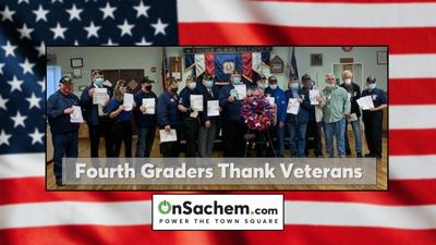 Sachem students spread kindness and thanks to veterans