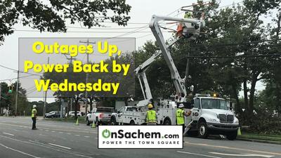 Power outages up again, restoration extended to Wednesday